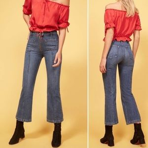 Reformation High Rise Elle Jeans